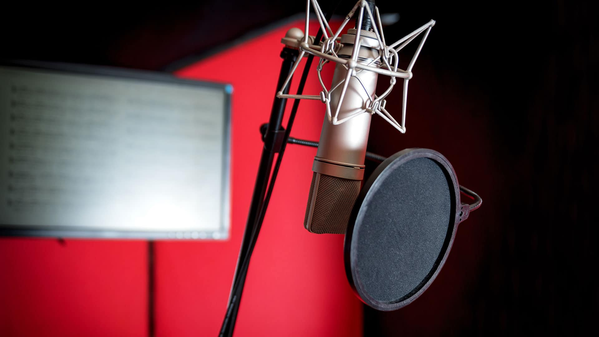 the perfect voice and accent for audio or video of off-camera or off-stage commentary and reading of live event or award presentations