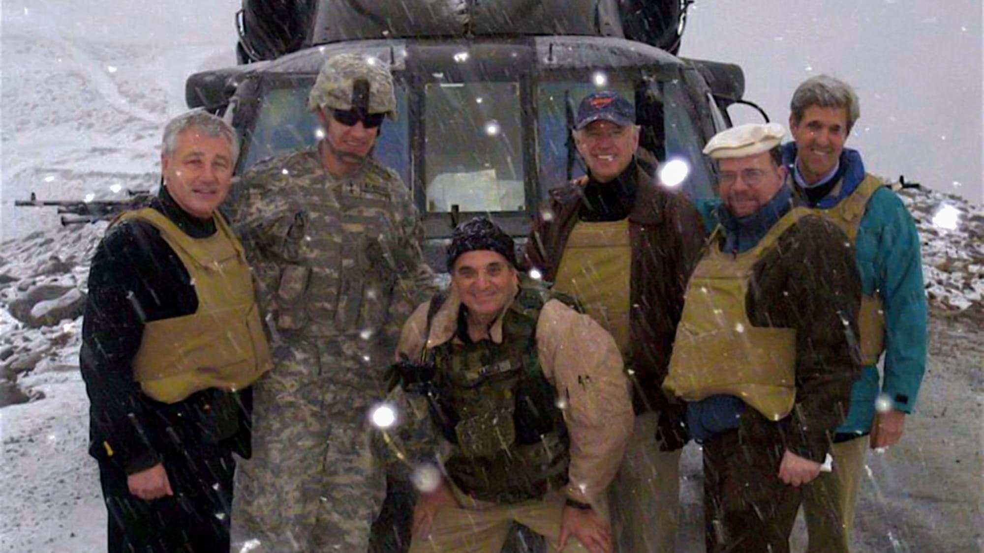 President Biden Afghanistan Storm Helicopter Photo Op